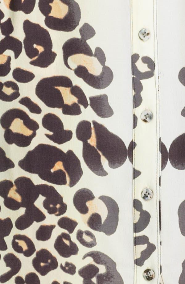 Alternate Image 3  - Mara Hoffman Leopard Print Shirtdress