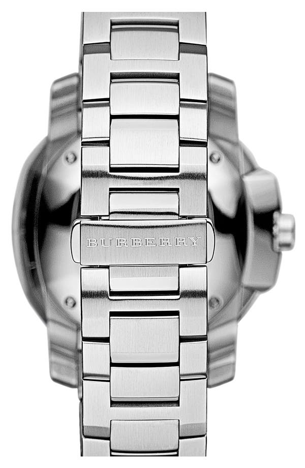 Alternate Image 3  - Burberry The Britain Bracelet Watch, 38mm
