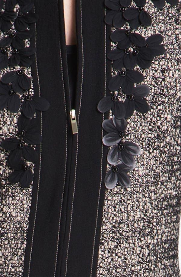 Alternate Image 5  - St. John Collection Graphic Tweed Jacket