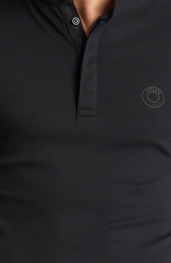 Alternate Image 3  - Armani Collezioni Short Sleeve Henley