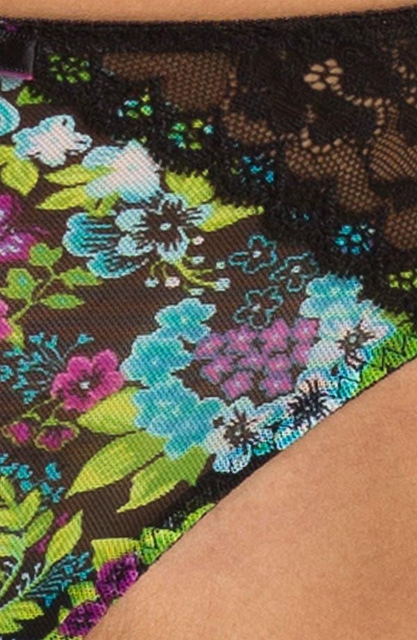 Alternate Image 3  - Betsey Johnson Mesh & Lace Bikini