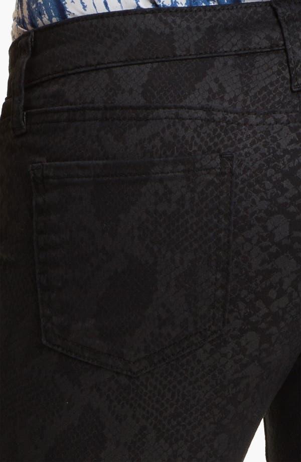 Alternate Image 3  - KUT from the Kloth 'Jennifer' Skinny Stretch Jeans (Snakeskin Print) (Online Exclusive)