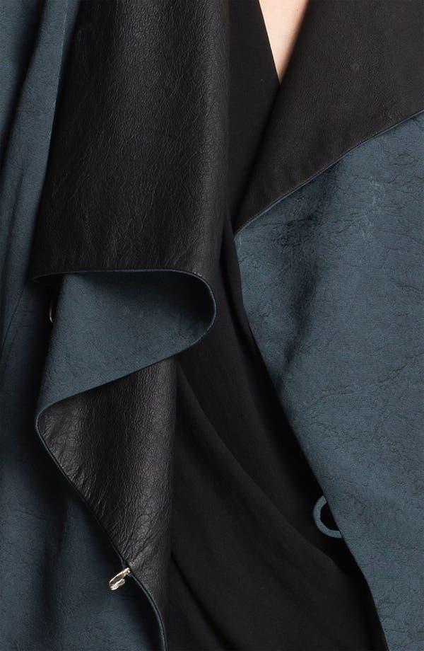 Alternate Image 3  - Helmut Lang 'Perma' Jacquard & Leather Jacket