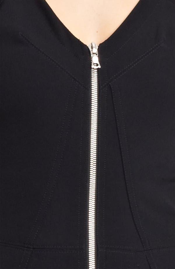 Alternate Image 3  - Yigal Azrouël Crepe & Jersey Dress