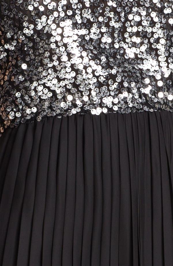 Alternate Image 3  - BB Dakota 'Olsen' Sequin & Chiffon Blouson Dress