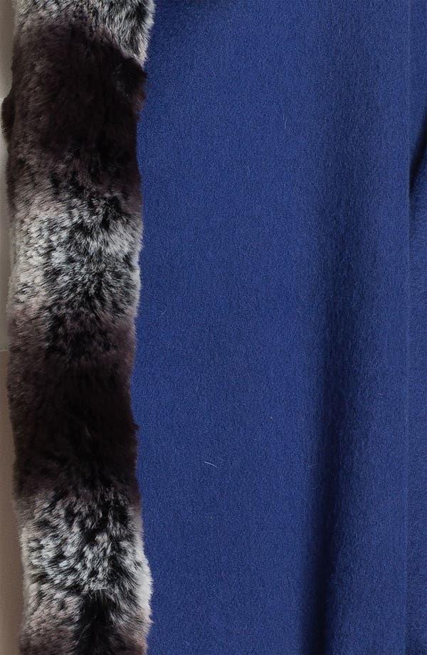 Alternate Image 2  - Nordstrom Faux Fur Wool Wrap