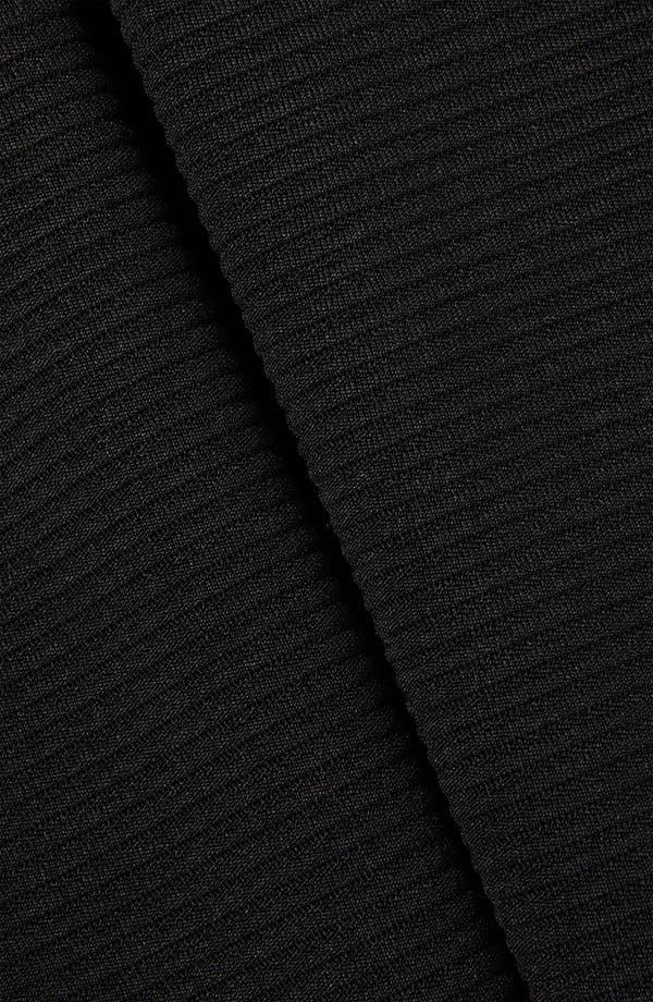Alternate Image 3  - Topshop Pleated Ribbed Skater Skirt
