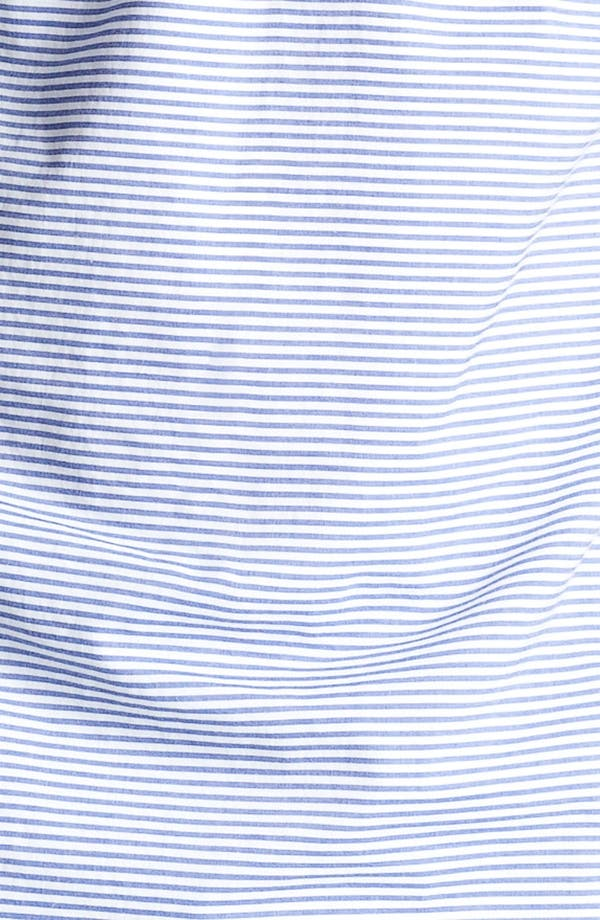 Alternate Image 3  - Gant by Michael Bastian Stripe Half Placket Woven Shirt