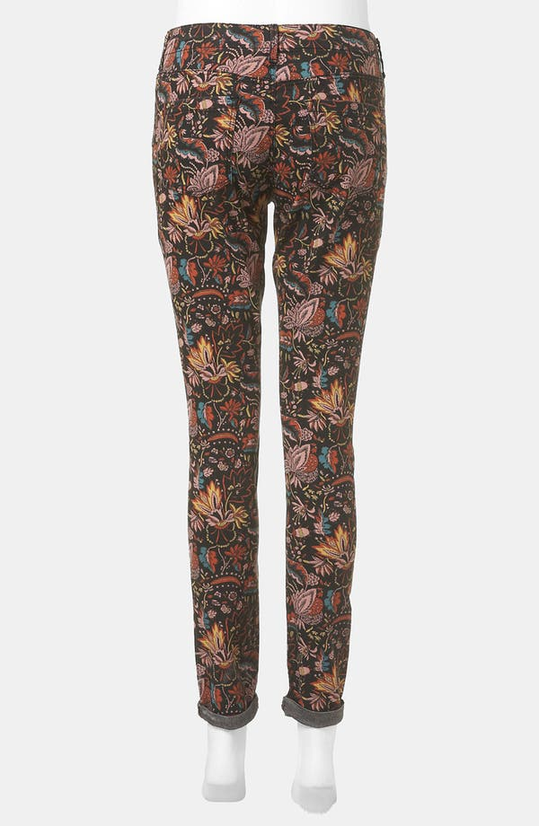 Alternate Image 3  - Topshop 'Leigh - Scandi Floral' Skinny Maternity Jeans