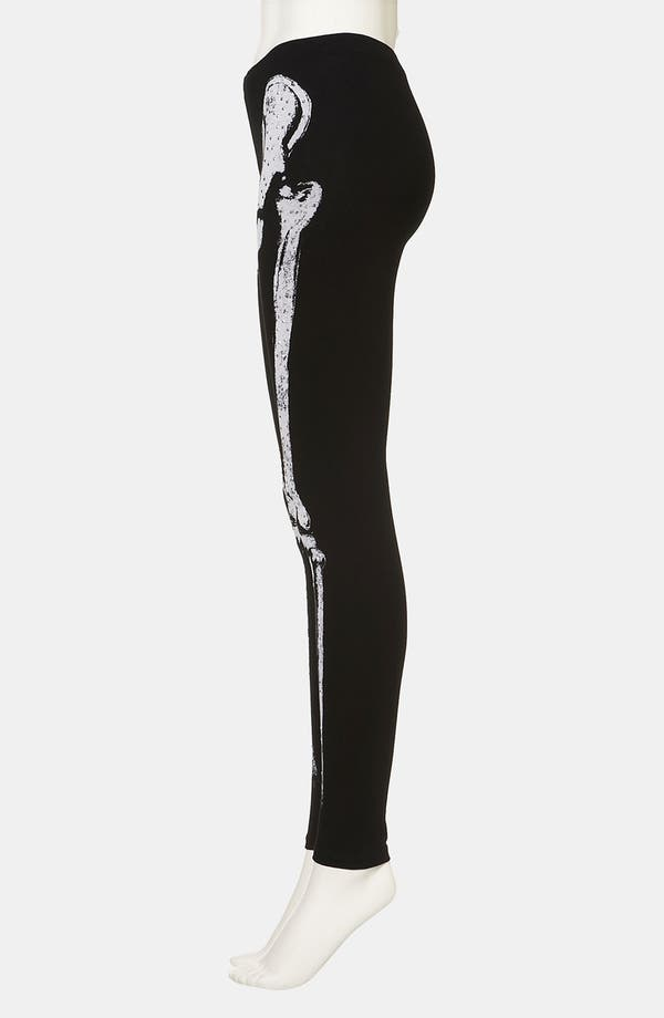 Alternate Image 4  - Topshop 'Skeleton' Leggings
