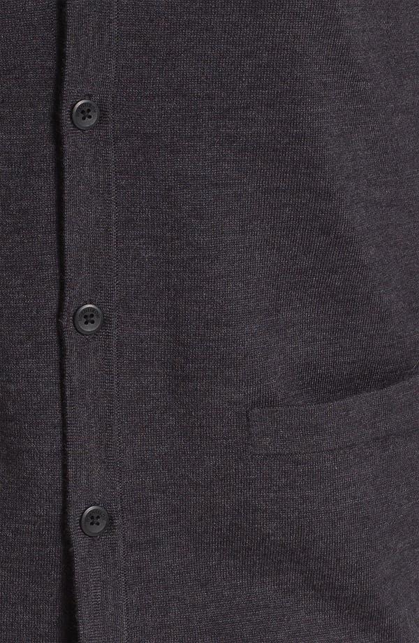 Alternate Image 3  - Nordstrom Merino Wool Button Cardigan