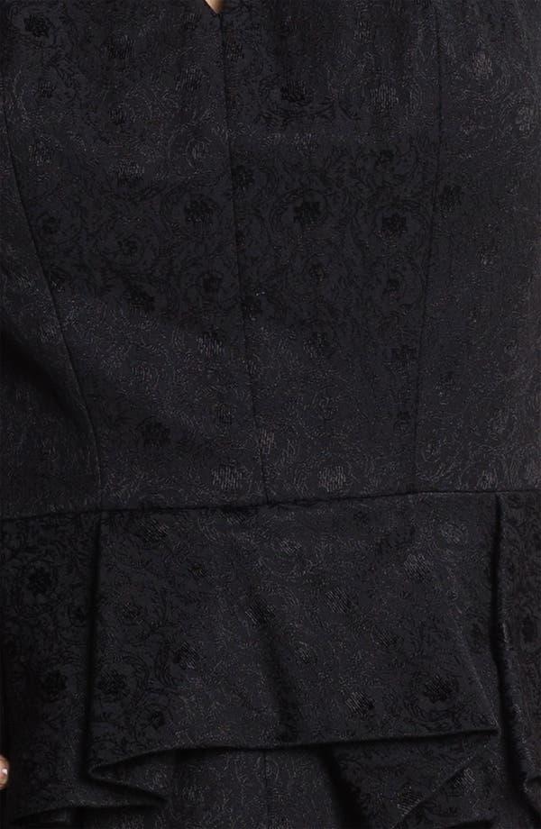 Alternate Image 3  - Robert Rodriguez Brocade Origami Dress