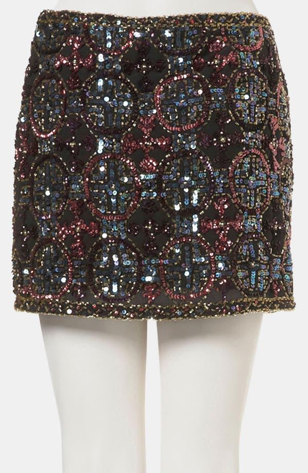 Alternate Image 2  - Topshop Embellished Miniskirt