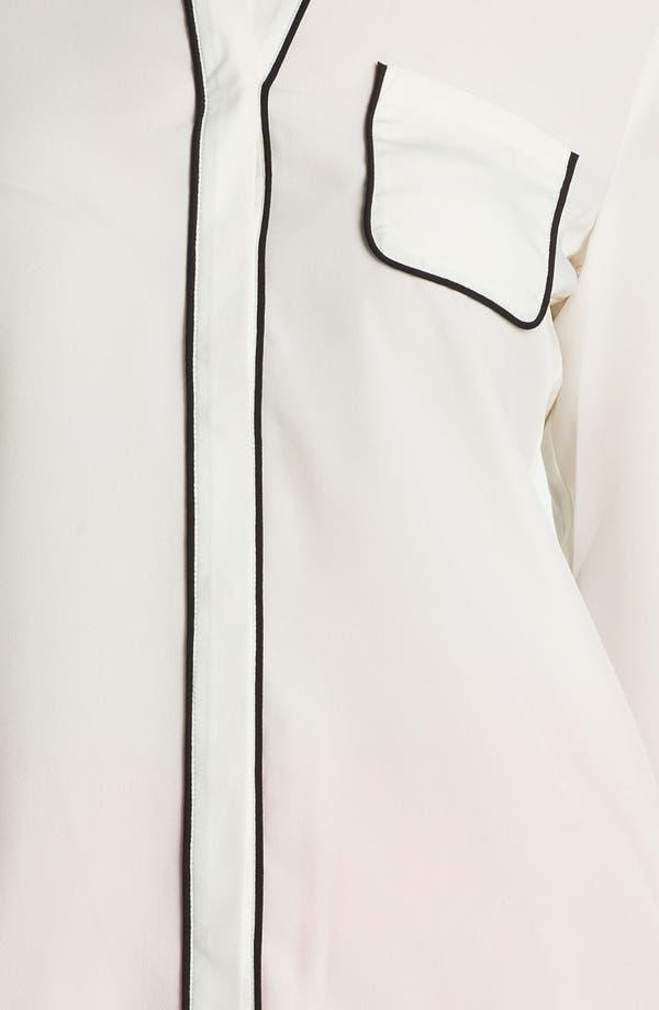 Alternate Image 3  - Dora Landa Pajama Shirt
