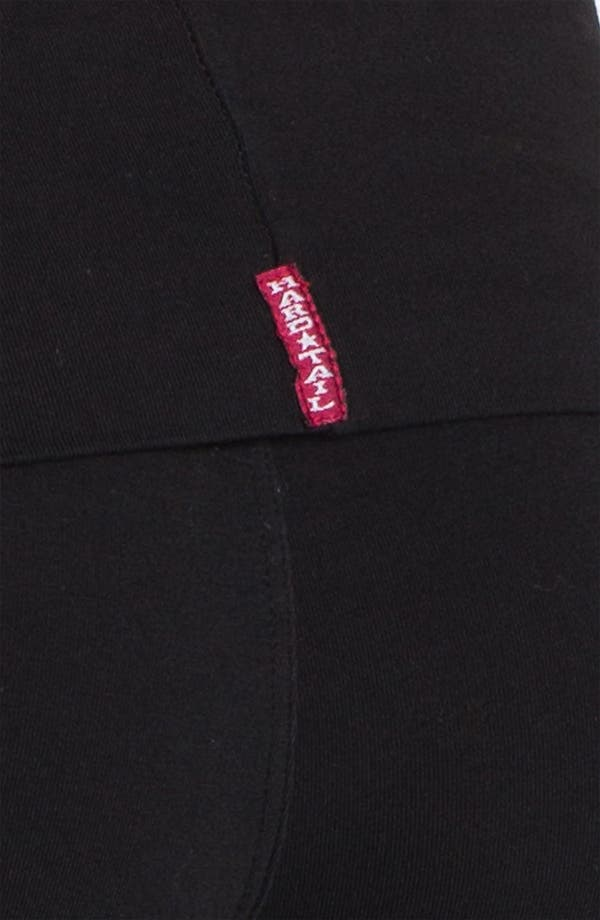 Alternate Image 3  - Hard Tail Roll Waist Leggings