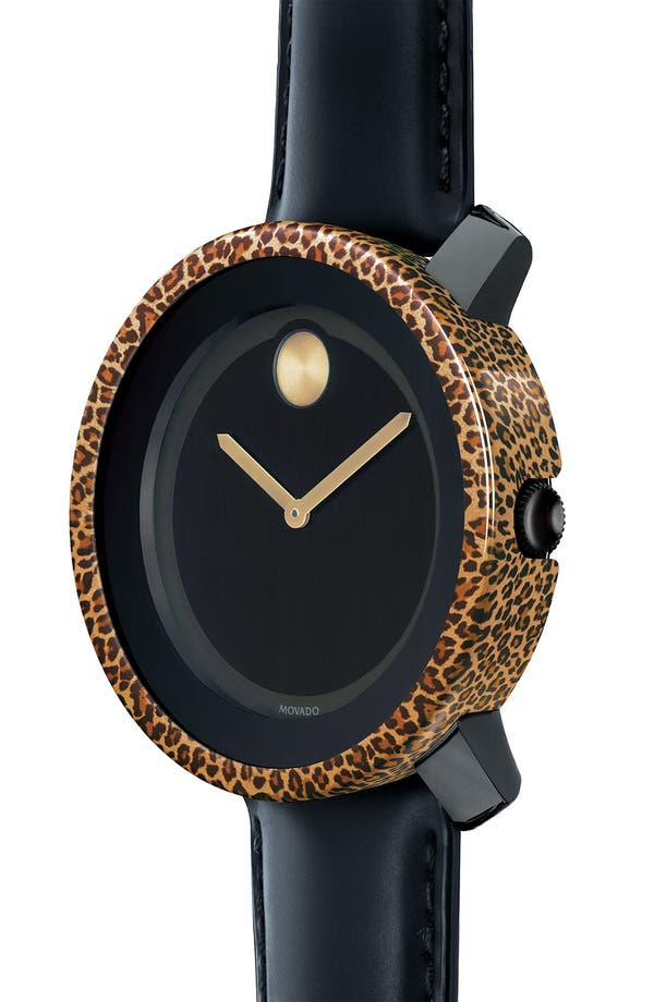 Alternate Image 2  - Movado 'Bold' Animal Print Watch Case Cover