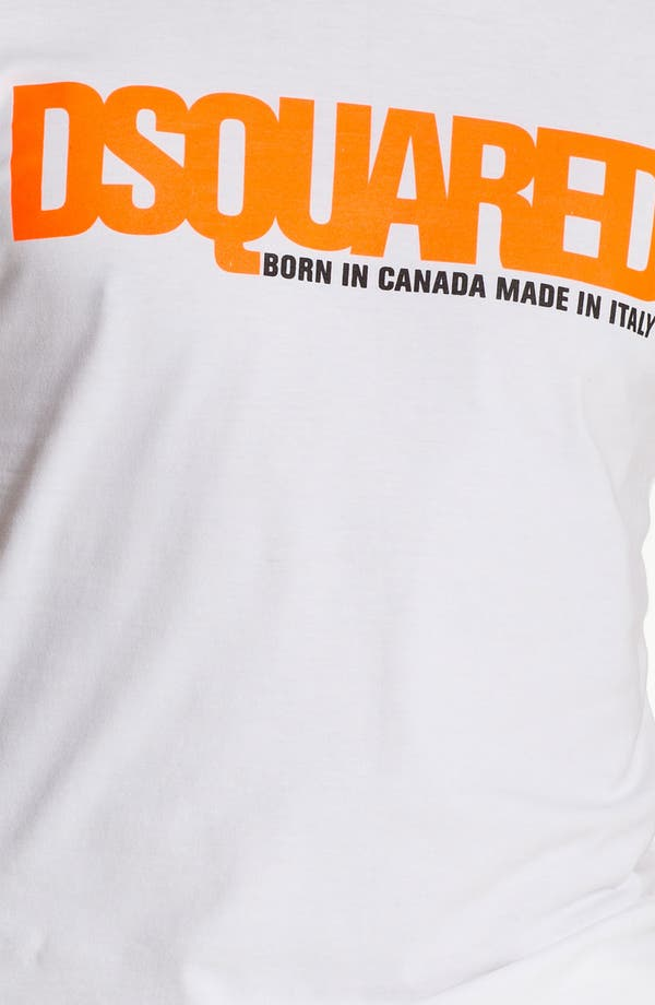 Alternate Image 3  - Dsquared2 Logo Print T-Shirt