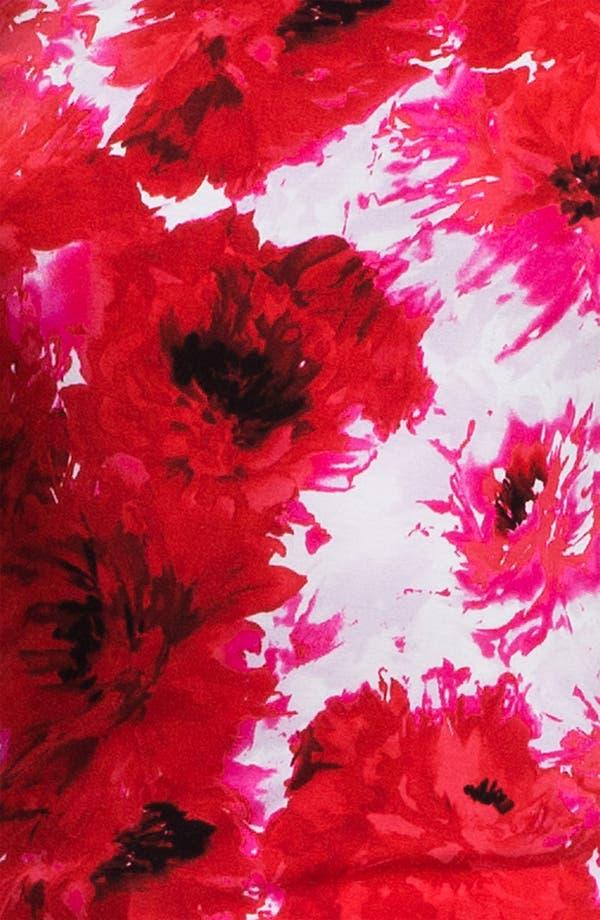 Alternate Image 5  - St. John Yellow Label Chrysanthemum Print Jersey Tee