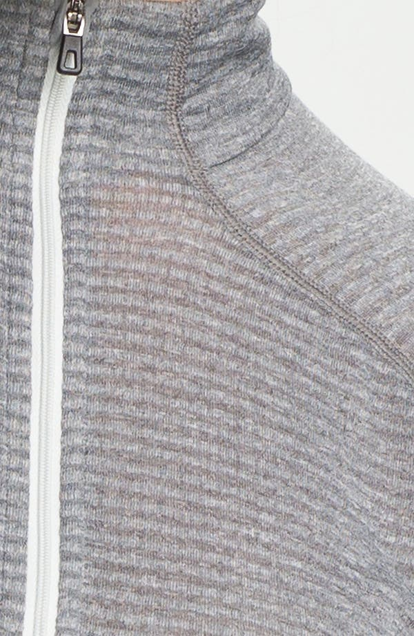 Alternate Image 3  - Patagonia 'Capilene 4' Expedition Weight Base Layer Zip Neck Top