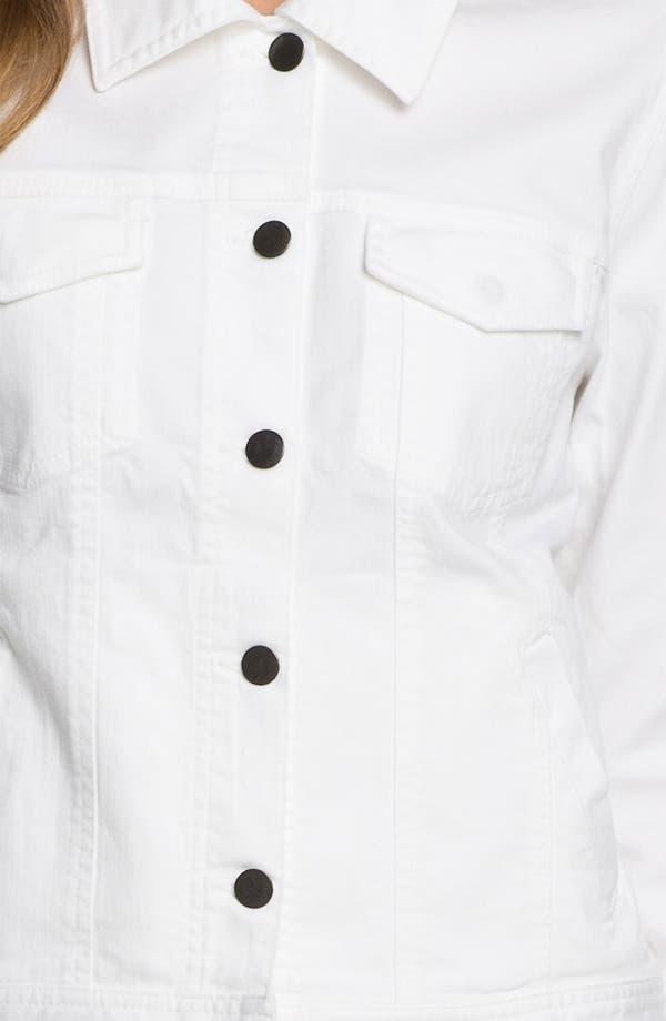 Alternate Image 3  - Eileen Fisher Organic Stretch Cotton Denim Jacket