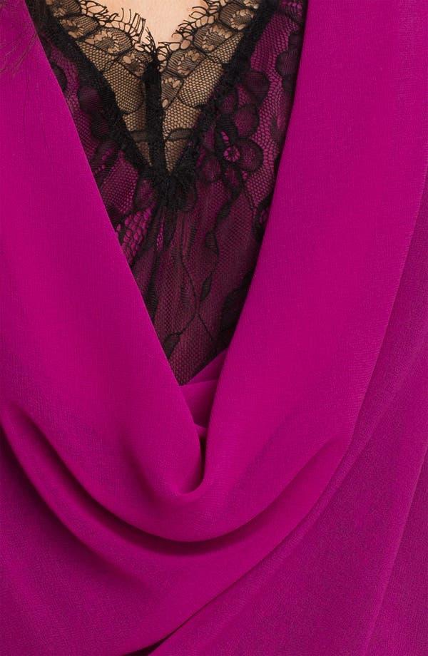 Alternate Image 3  - Heed Layered Lace & Chiffon Draped Top