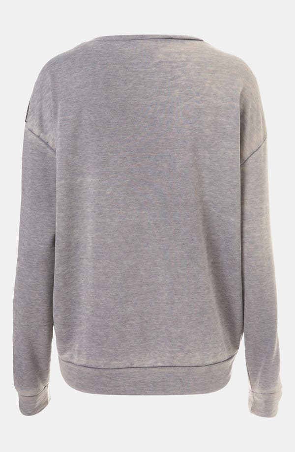 Alternate Image 2  - Topshop Wing Sweatshirt