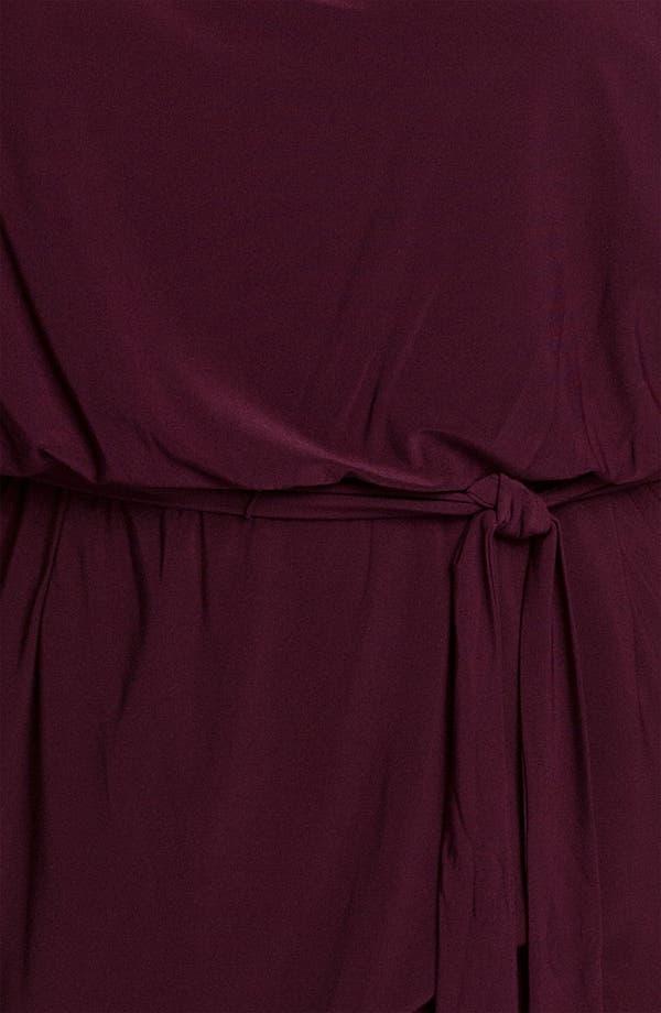 Alternate Image 3  - Eliza J Flutter Sleeve Blouson Dress (Plus)
