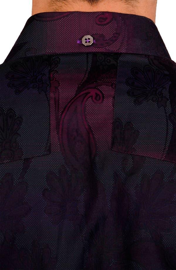 Alternate Image 5  - Bogosse 'Kaz 89' Trim Fit Sport Shirt