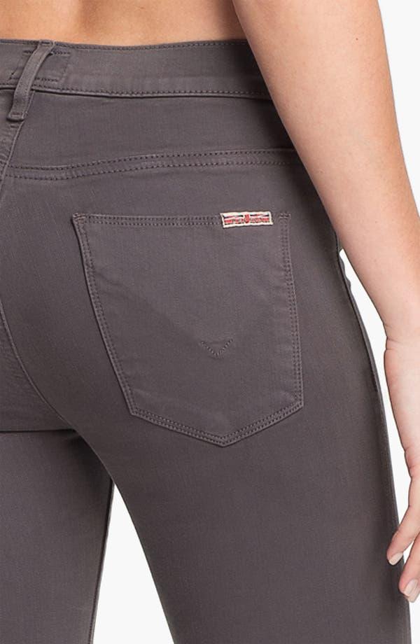 Alternate Image 3  - Hudson Jeans 'Nico' Skinny Stretch Jeans (Dark Grey)