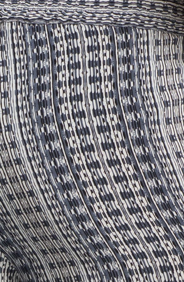 Alternate Image 3  - Vince 'Track' Print Silk Pants