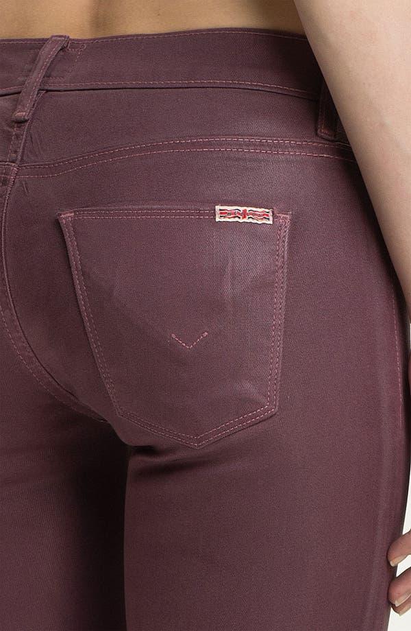 Alternate Image 3  - Hudson Jeans 'Krista' Super Skinny Jeans (Steady As She Goes Wax)