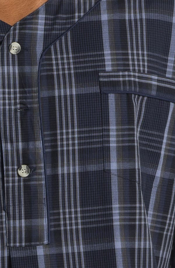 Alternate Image 3  - Majestic International Plaid Nightshirt (Big & Tall)