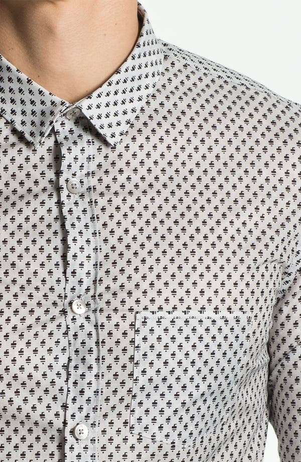 Alternate Image 3  - Burberry Prorsum Geometric Fawn Print Shirt