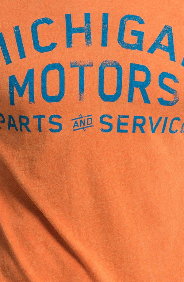 Alternate Image 3  - Denim & Leathers by Andrew Marc 'Michigan Motors' Graphic T-Shirt