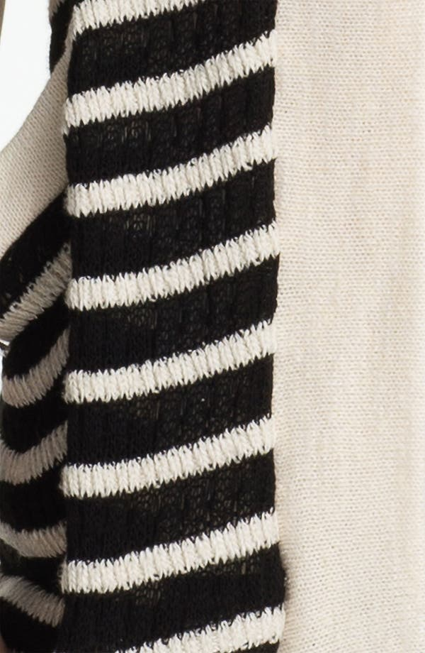 Alternate Image 3  - Splendid 'Panama' Stripe Oversized Cardigan
