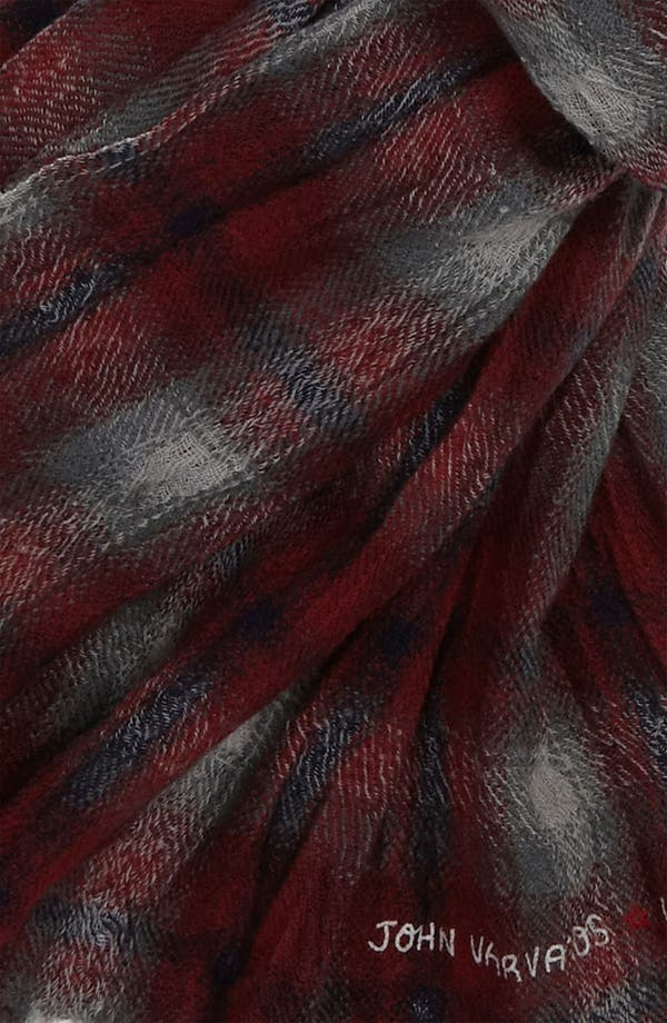 Alternate Image 2  - John Varvatos Star USA Yarn Dyed Scarf