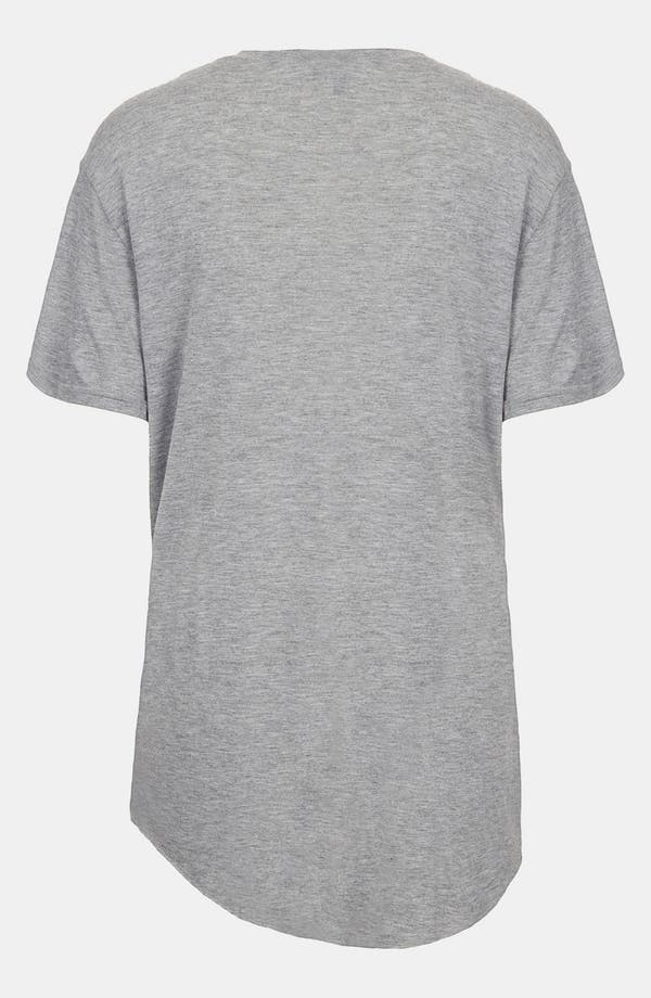 Alternate Image 2  - Topshop 'Lost Without Love' Oversized Tee