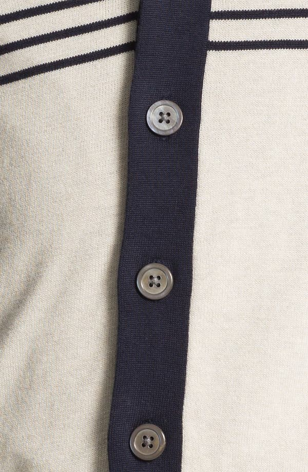 Alternate Image 3  - Brooks Brothers Shawl Collar Cardigan
