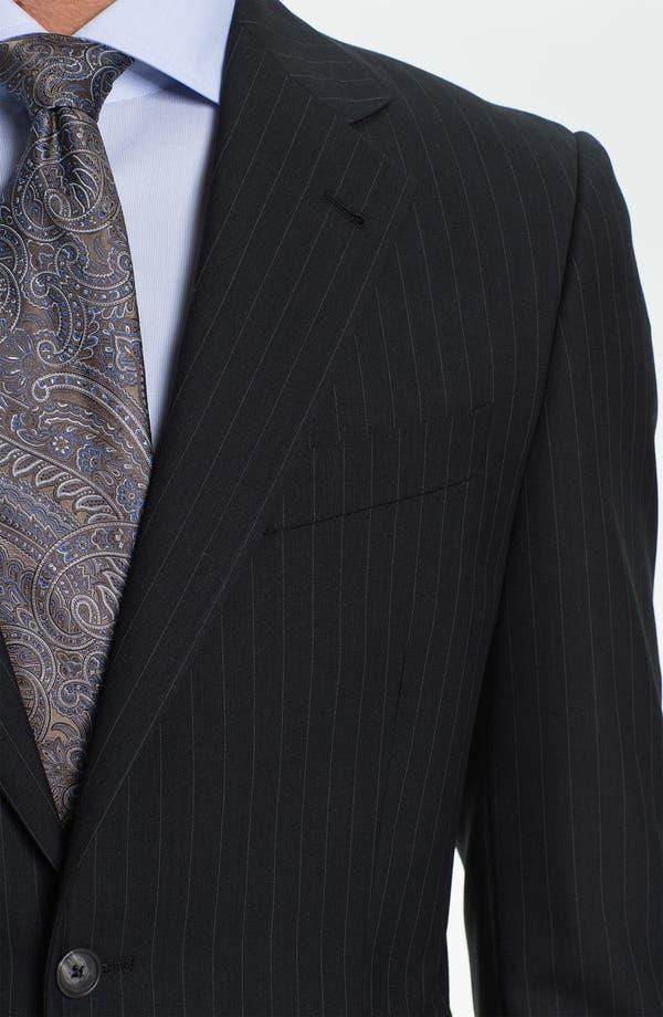 Alternate Image 6  - Joseph Abboud Stripe Suit