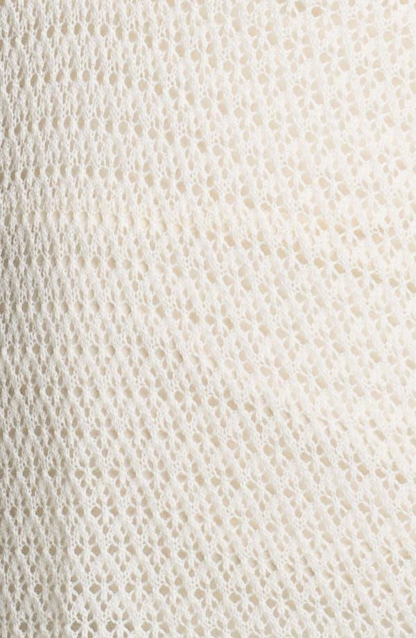 Alternate Image 3  - Ella Moss 'Julia' Pointelle Tunic Sweater