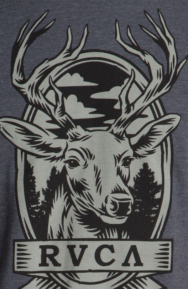 Alternate Image 3  - RVCA 'Deer Head' T-Shirt