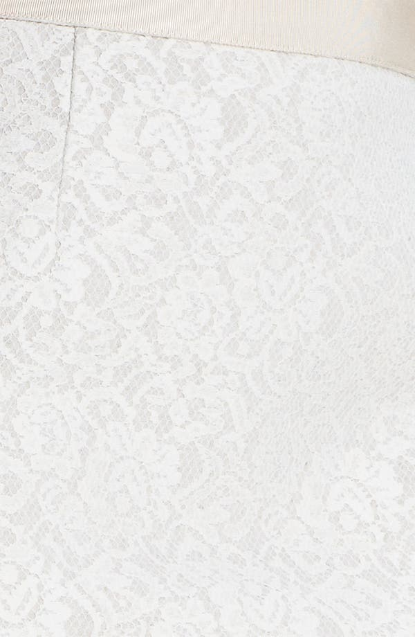 Alternate Image 3  - Classiques Entier® Bonded Lace Pencil Skirt