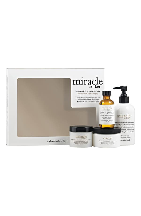 Main Image - philosophy 'miracle worker' full size kit ($165 Value)