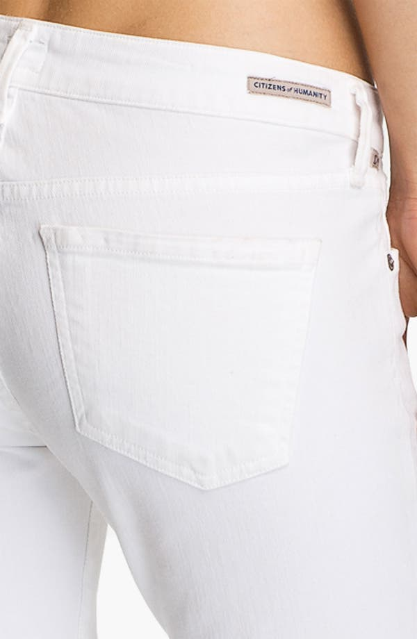 Alternate Image 3  - Citizens of Humanity 'Racer' Crop Skinny Jeans (Santorini)
