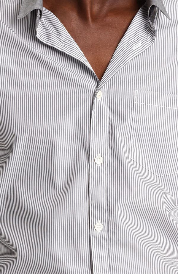 Alternate Image 3  - John Varvatos Collection Stripe Shirt