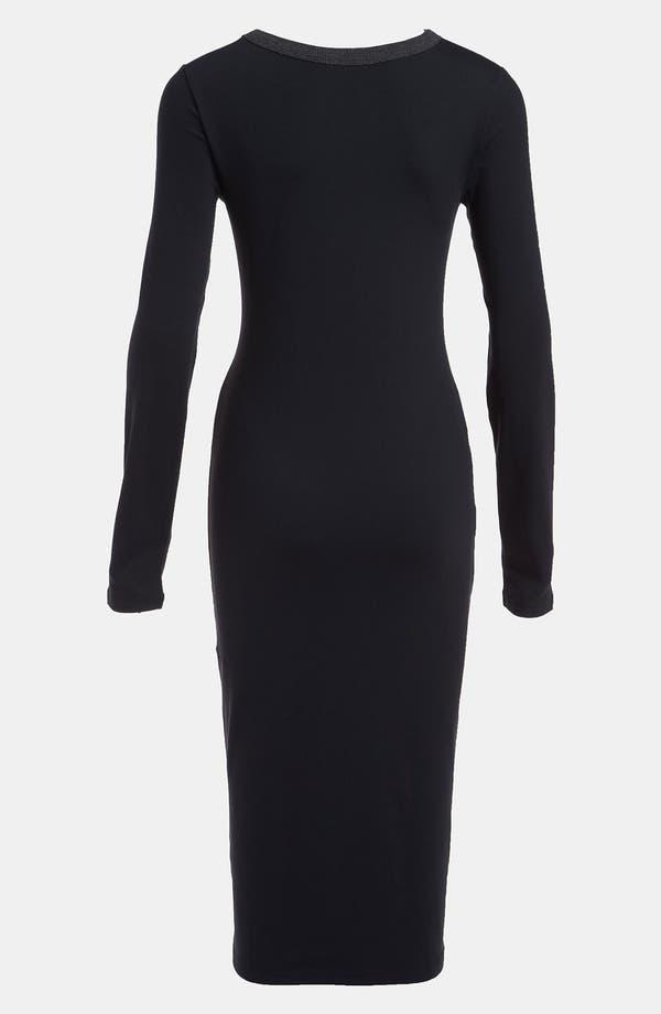 Alternate Image 2  - Leith Body-Con Midi Dress