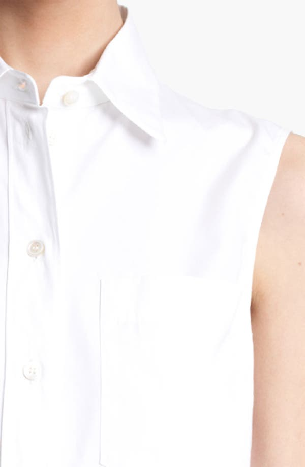 Alternate Image 3  - Michael Kors Sleeveless Poplin Top