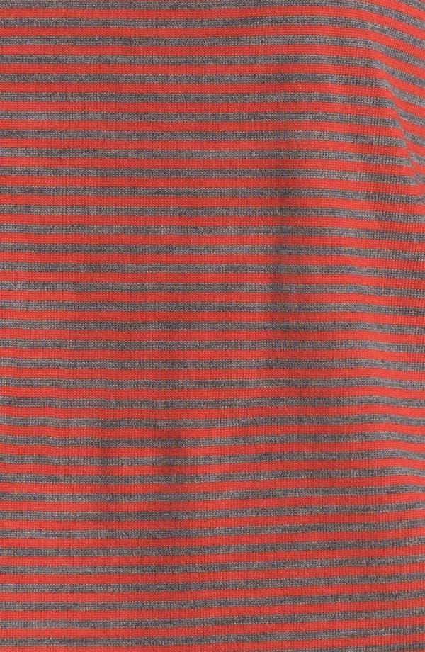 Alternate Image 3  - Eileen Fisher Stripe Fine Merino Top