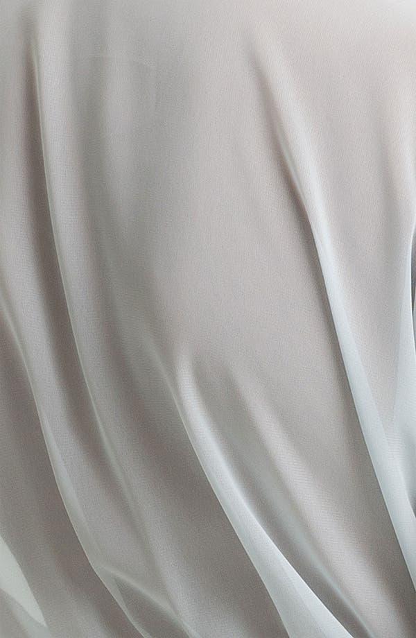 Alternate Image 3  - Oscar de la Renta Sleepwear 'Sweet Dot' Short Sheer Robe