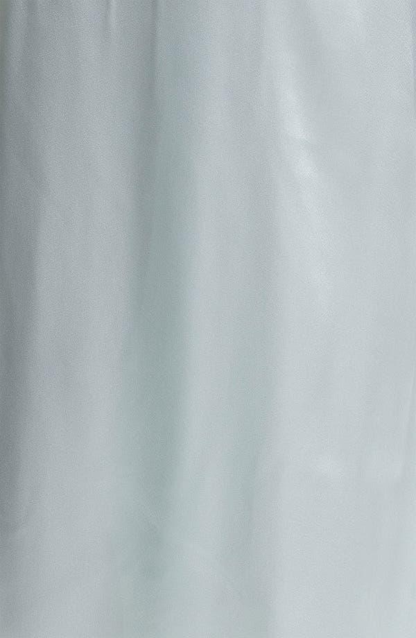 Alternate Image 3  - Oscar de la Renta Sleepwear Lace Trim Charmeuse Robe